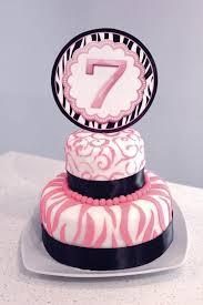 Girly Birthday Cake 7 Year Old Emilys Birthday Ideas Girly