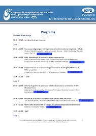 Programa Técnico última versión