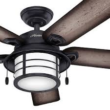 outdoor ceiling fans white. Image Is Loading Hunter-54-034-Weathered-Zinc-Outdoor-Ceiling-Fan- Outdoor Ceiling Fans White