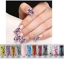 699 Květina Půvab Svatba Nehtové Tipy Umělé Nehty Nail Art Salon Design Make Up Kosmetické