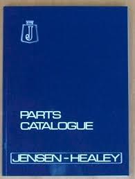jensen owners club regalia parts catalogue jensen healey