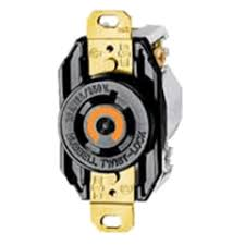 nema locking wire receptacles single