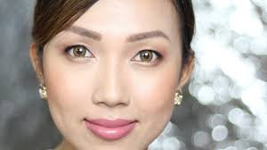dainty pinay natural bridal makeup all filipino brands used clairbellatv you