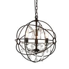 bird cage lighting. Bird Cage 3-Light Globe Pendant Lighting