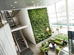 green wall office. Living-wall-in-office11 Green Wall Office