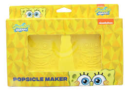 If you every wanted to make your own spongebob title card or time card, i have the resources here! Spongebob Squarepants 2 Piece Popsicle Maker Set Free Shipping Toynk Toys