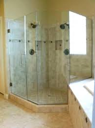 how to install frameless glass shower enclosure installing glass frameless glass shower doors cost frameless sliding