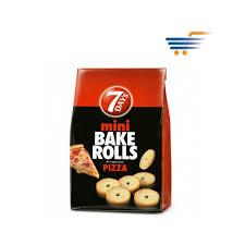 7 Days Mini Bake Rolls Pizza 80gr