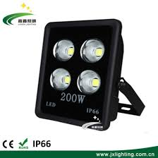 ip65 waterproof square led cast outdoor lighting100w 150w 200w high power floodlight
