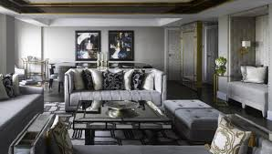 Gray Living Room Cool Inspiration