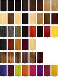 Wella Auburn Color Chart