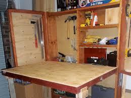 diy fold up workbench