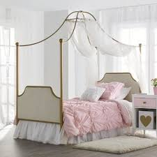 Twin Canopy Bed For Girls | Wayfair