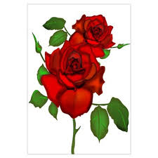 red rose wall art red rose wall decor