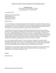 Cover Letter Examples Higher Education