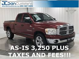 Pre-Owned 2007 Dodge Ram 1500 SLT 4D Extended Cab in Paris #680A ...