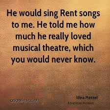 Rent Quotes Impressive Idina Menzel Quotes QuoteHD