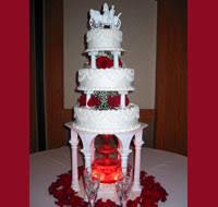Fountain Wedding Cakes Wedding Fountain Cakes Creative Cakes By