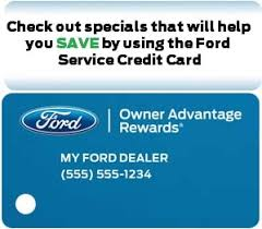 Ford credit card is store care providing by the citi bank. Los Angeles North Hollywood Ford Dealer Service Credit Card Star Ford