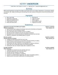 Professional Apprentice Concrete Form Setter And Finisher Resume