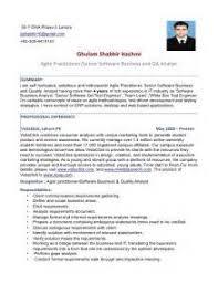 qa tester resume sample 2 qa resume template