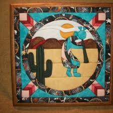 Shop Southwest Quilting on Wanelo & Home Decor, Handcrafted Picture, Southwest Style Art, Kokopelli, Cactus,  Desert Landscape Adamdwight.com