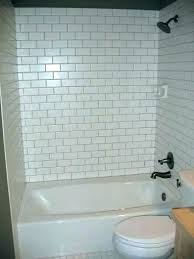 bathtub surround vs tile subway tile tub surround pictures bathtub surrounds bathtub tile surround a bathroom