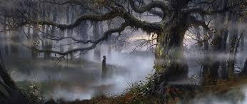 Картинки по запросу болото ночью
