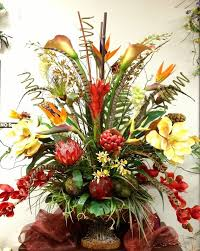 Small Picture Top 25 best Tropical artificial flowers ideas on Pinterest Palm