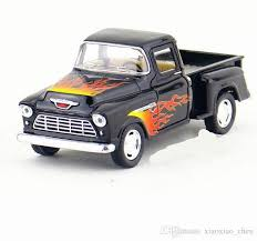 1:32 Chevrolet Pickup Truck Flame Version of the Truck Diecast Metal ...