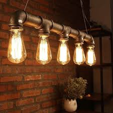 old style lighting. Beautiful Old DIY Industrial Style Lighting With Old Pipes And Edsion Bulb Inside T