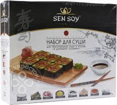 Купить <b>Набор для суши</b> Sen Soy Premium 394г с доставкой на ...