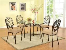 home choices glass dining tables or wood metal and set mainstays 5 piece top decor