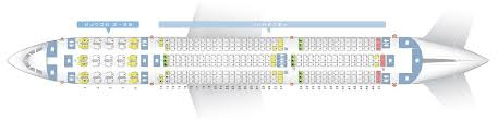 Seat Map And Seating Chart Airbus A350 900 Ethiopian