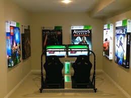 ... Interior Game Room Layout Ideas Best 20 Ultimate Gaming Setup On  Pinterest Refreshing ...