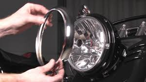 How To Install A Headlight On A Harley Davidson By J P Cycles