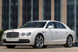 white flying spur. 2014 bentley flying spur sedan exterior white o