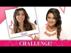 sports makeup challenge shay mitc and josie loren from make it or break it