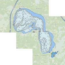 Higgins Lake Fishing Map Us_mi_72_117 Nautical Charts App