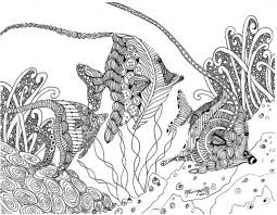 Small Picture Complicated Fish Coloring Pages Coloring Pages