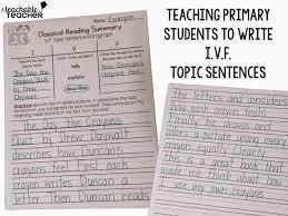 I V F Summary Sentences A Teachable Teacher