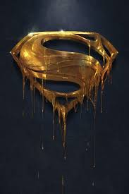 golden superman wallpaper