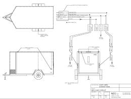Modern simple trailer wiring diagram adornment electrical diagram