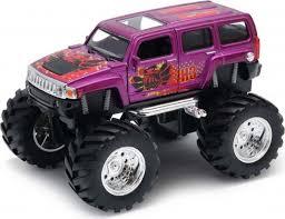 Машинка <b>Welly Hammer H3</b> Big Wheel Monster, 47001S — купить ...