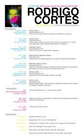 Spanish Resume Template Impressive Perfect Spanish Resume Format With Spanish Resume Template Madrat