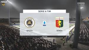 Spezia vs Genoa serie a tim giornata 14 Live premiere calcio FIFA 21 -  YouTube