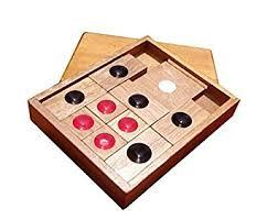 Classic Wooden Board Games Amazon WISDOMTOY Classic Wooden Brain Teaser Slide Escape 61