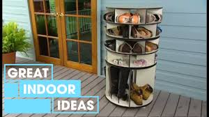 Just The Right Shoe Display Stand Make Your Own DIY Shoe Rack Indoor Great Home Ideas YouTube 37