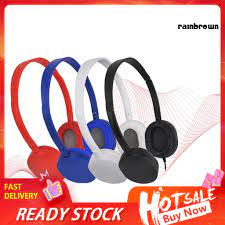 Tai Nghe Chụp Tai Jack 3.5mm Thiết Kế Thể Thao Năng Động - Tai nghe  Bluetooth chụp tai On-ear