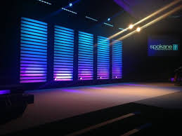 church lighting ideas. repeated idea but would look amazing centered on a larger stage church lighting ideas